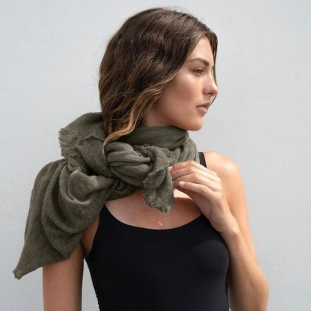 Natura Cashmere Luxury M Army Green