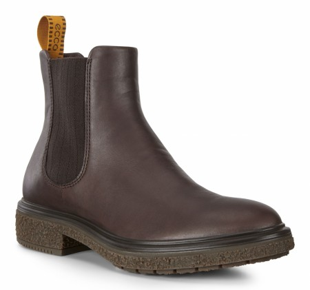 ECCO Crepetray Boot, Coffee