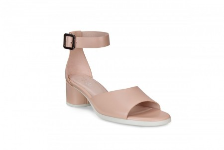 ECCO Shape 45 Block Sandal, Rose Dust