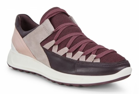 ECCO Flexure Runner, Rose/fig
