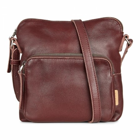 ECCO Casper Crossbody, Chocolate