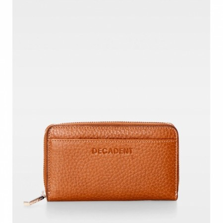 DECADENT Esther Medium Wallet, Cognac