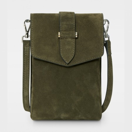 DECADENT Gina Mobile Cross, Suede Army
