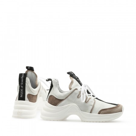 NUDE Joy Sneaker,  Mix Velour