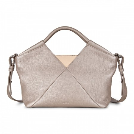 ECCO Linnea Small Workbag, Grey Rose
