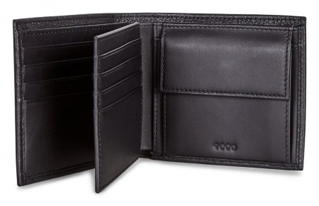 ECCO Jos Flap Wallet, Sort
