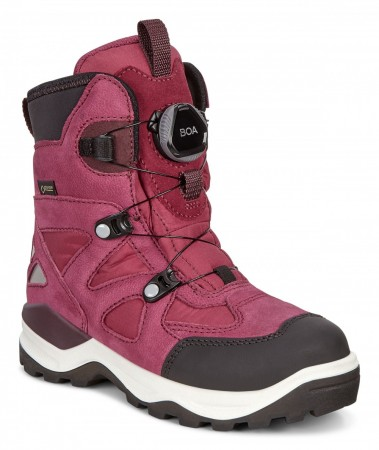 ECCO Snow Mountain Jr GORE-TEX®,  Red Plum