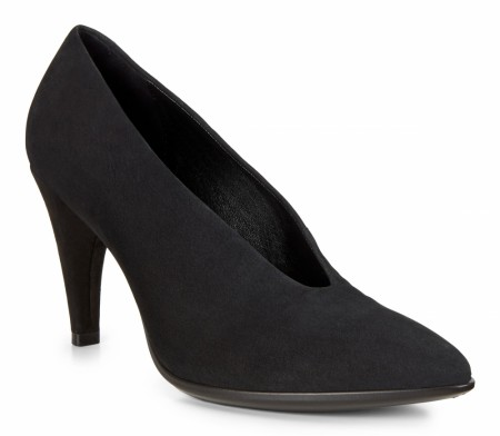 ECCO Shape 75 Pumps Nubuck, Sort