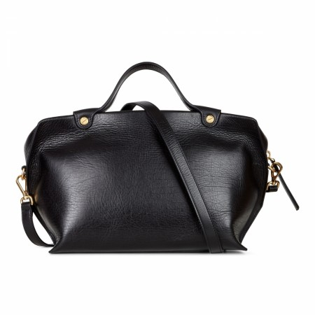 ECCO Sculptured Handbag, Sort