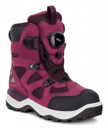 ECCO Snow Mountain Kids GORE-TEX®, Red plum