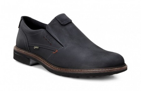 ECCO Turn Loafer GORE- TEX® Sort