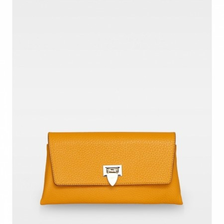 DECADENT Nora Small Clutch, Golden Yellow