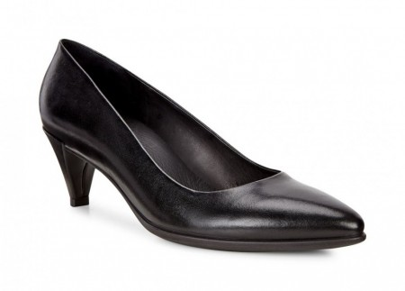 ECCO Shape 45 Pointy pump, Sort